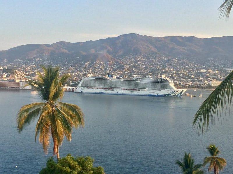 The Norwegian Bliss Acapulco Cruise Ship